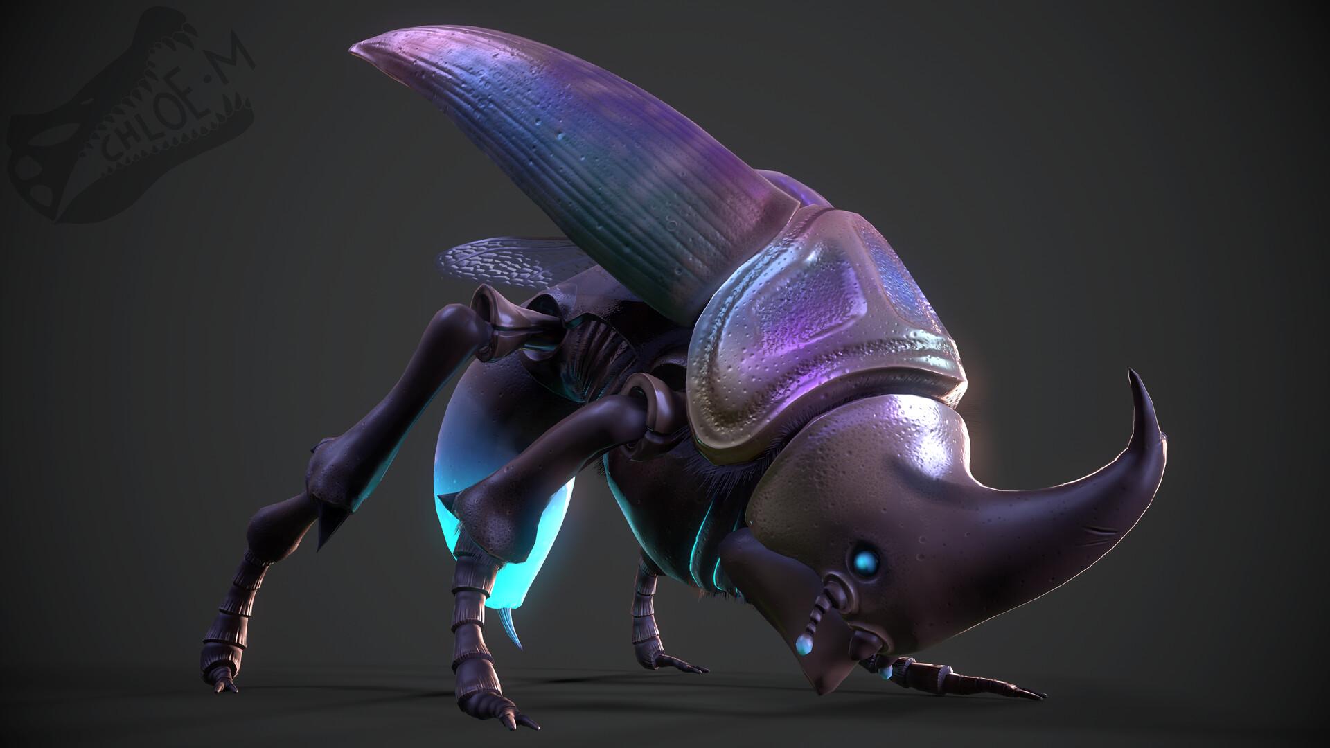 Chloe mccann beetle render 1