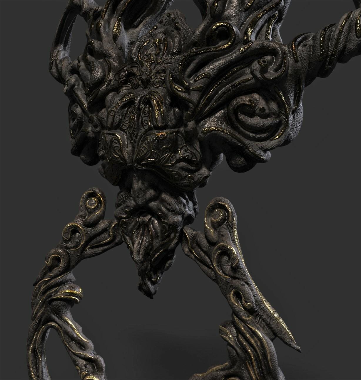 3D Game asset/ Concept design #2
