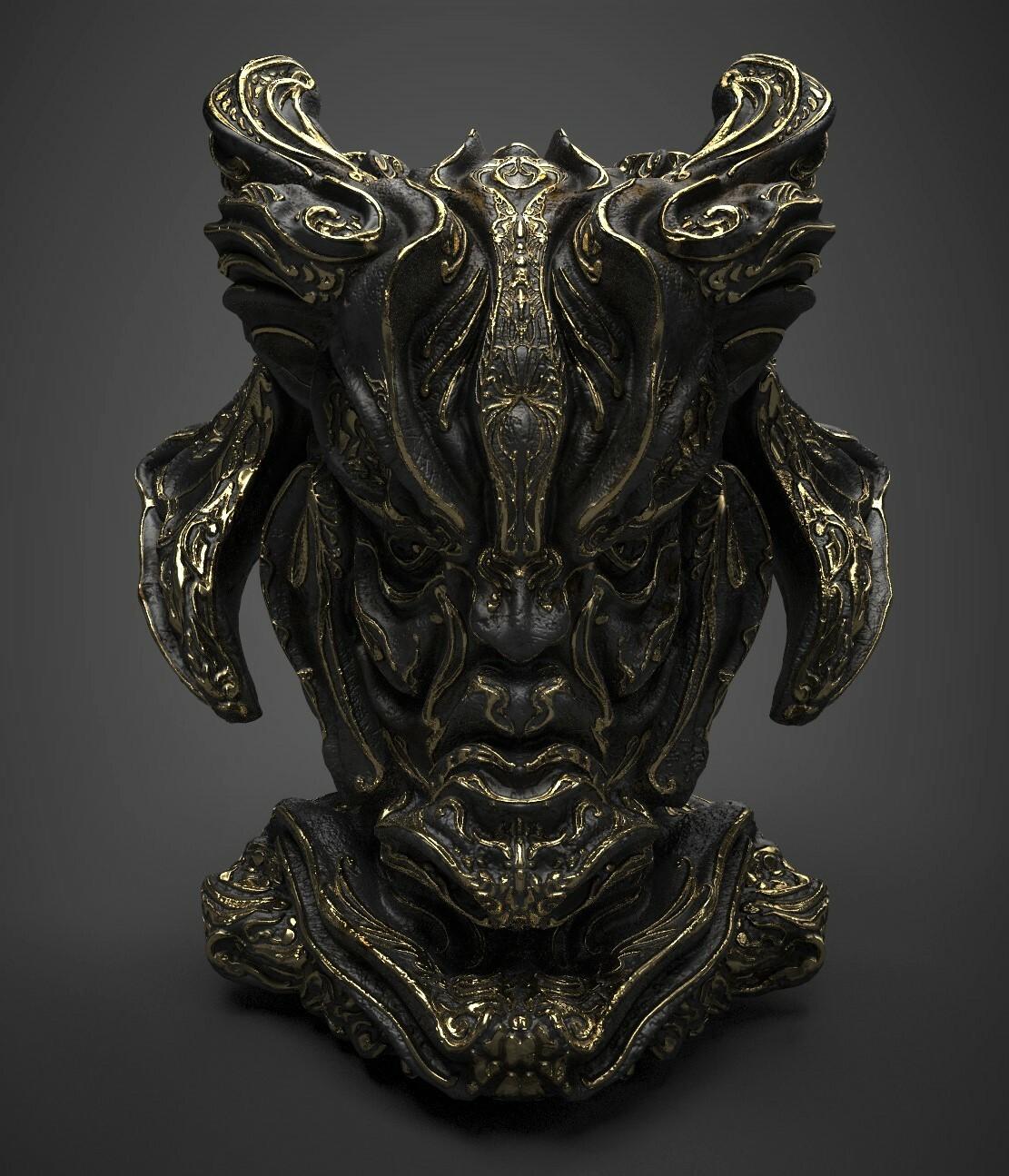 3D Game asset/ Fantasy Artifact #2