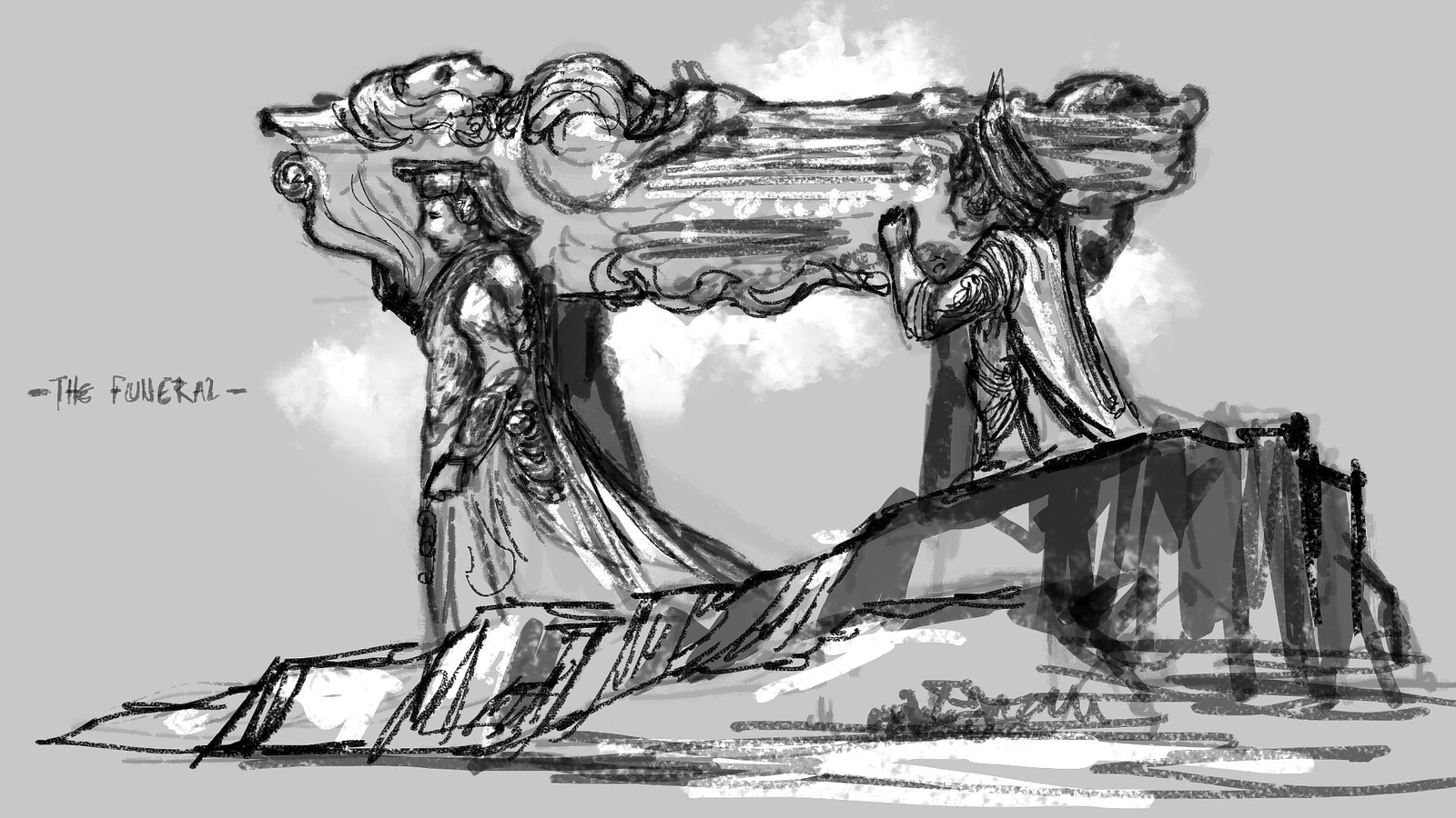 It Began with a Light- Concept Art Sketches