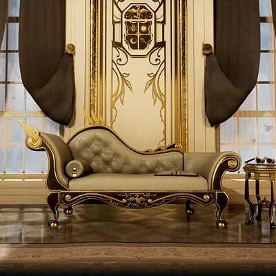 Baroque Couch