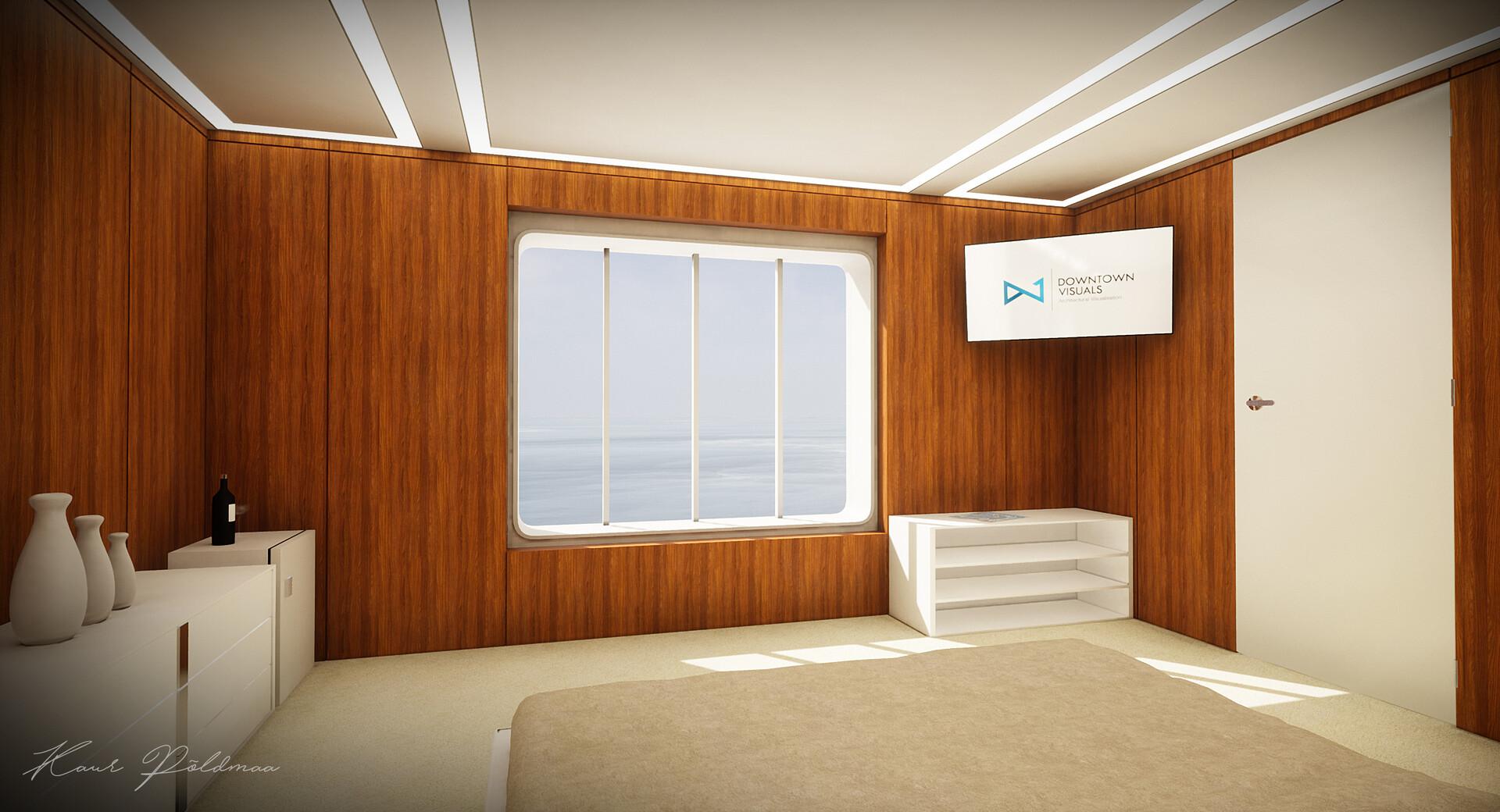 ArtStation - Yacht VR Demo - Unreal Engine 4 Archviz, Kaur
