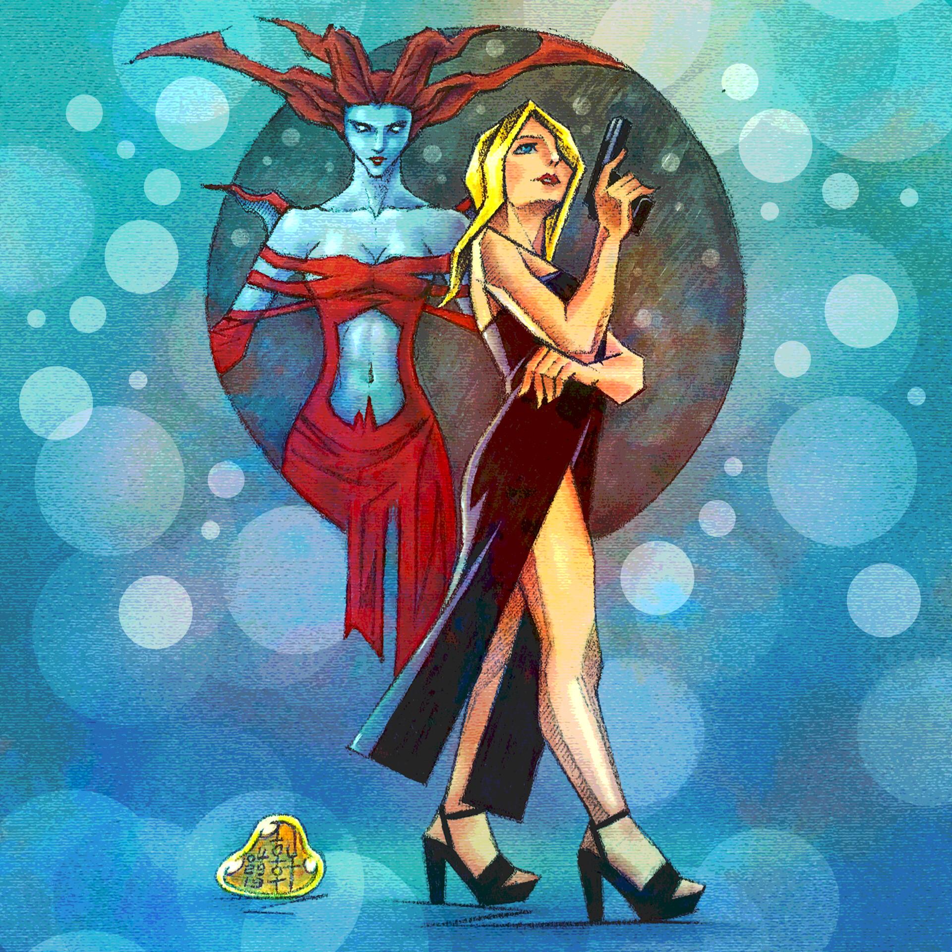 Aya and Eve - Version I