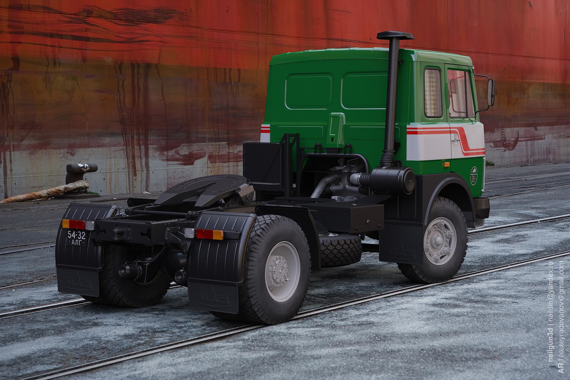Nail khusnutdinov alg 045 010 maz 5342 rear view 3x