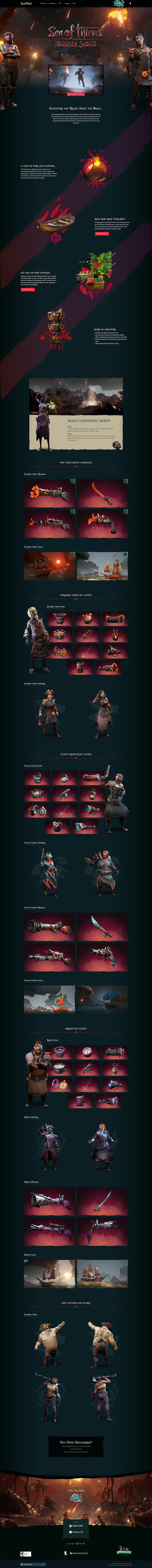ArtStation - Sea of Thieves - 3D Marketing Renders, Rashed