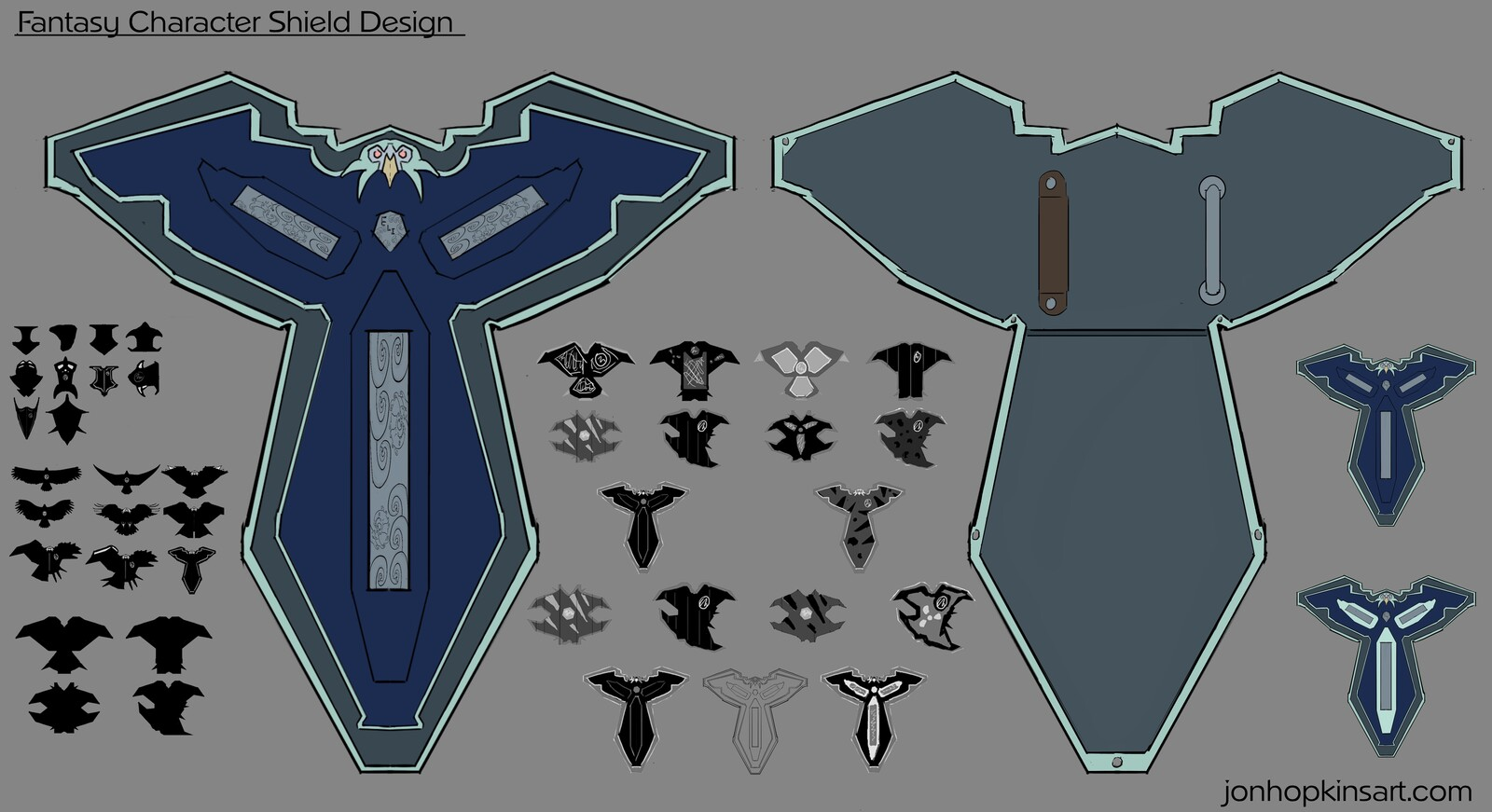 Final shield concept design