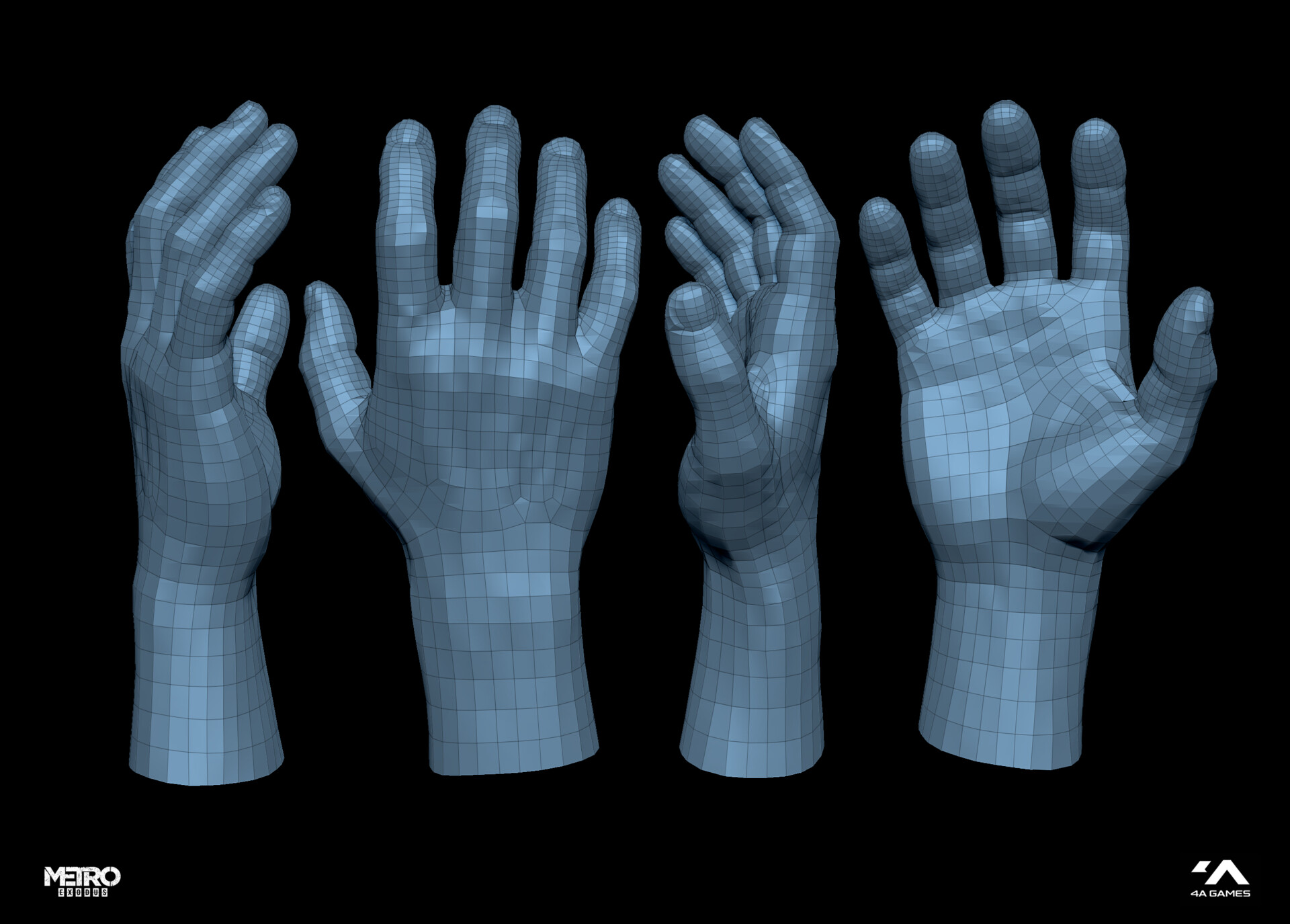 Retopology, UV-mapping, and rig-test by Dmitriy Pilipov  https://www.artstation.com/dmitriypilipov
