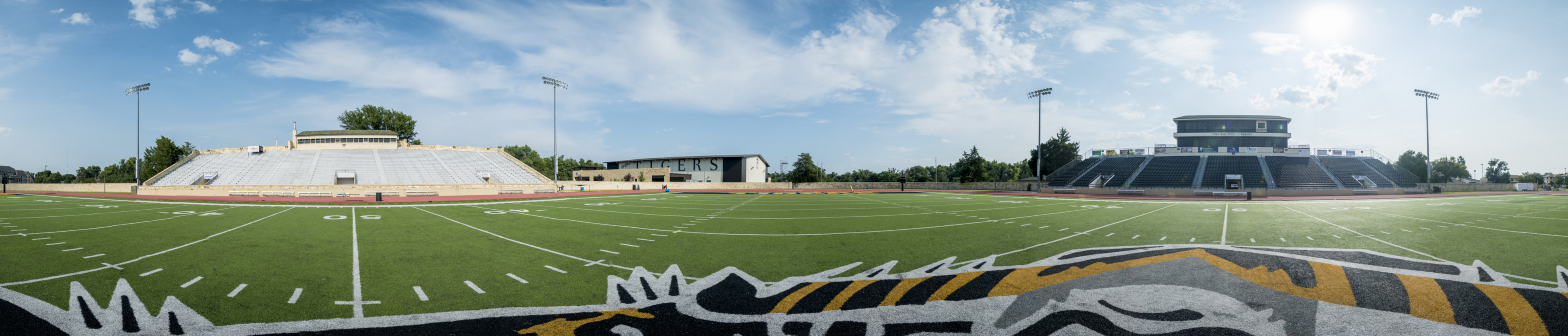Panorama of Field