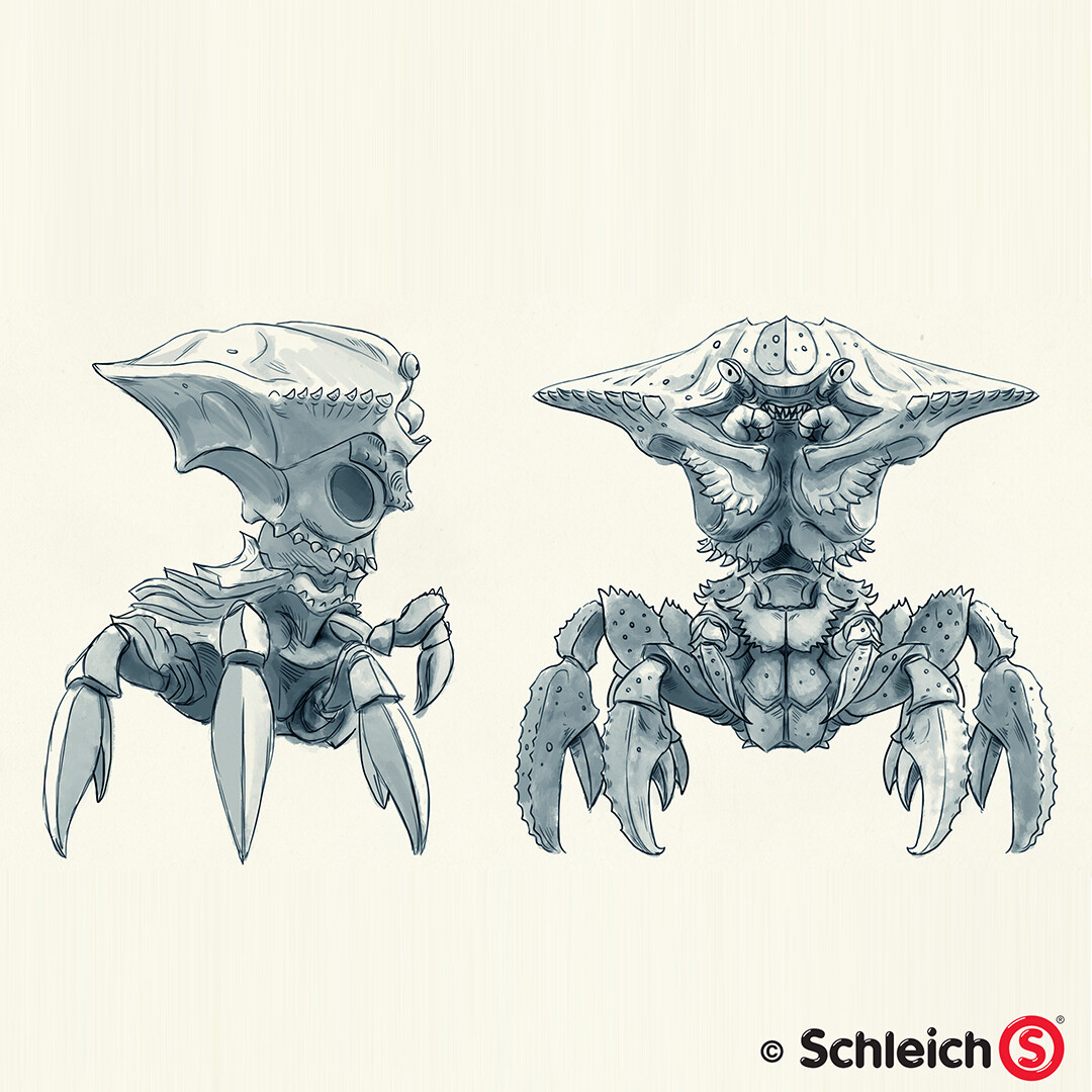 Dirk wachsmuth schleich portfolio 42495 wasserwelt kampfkrabbe pg 05