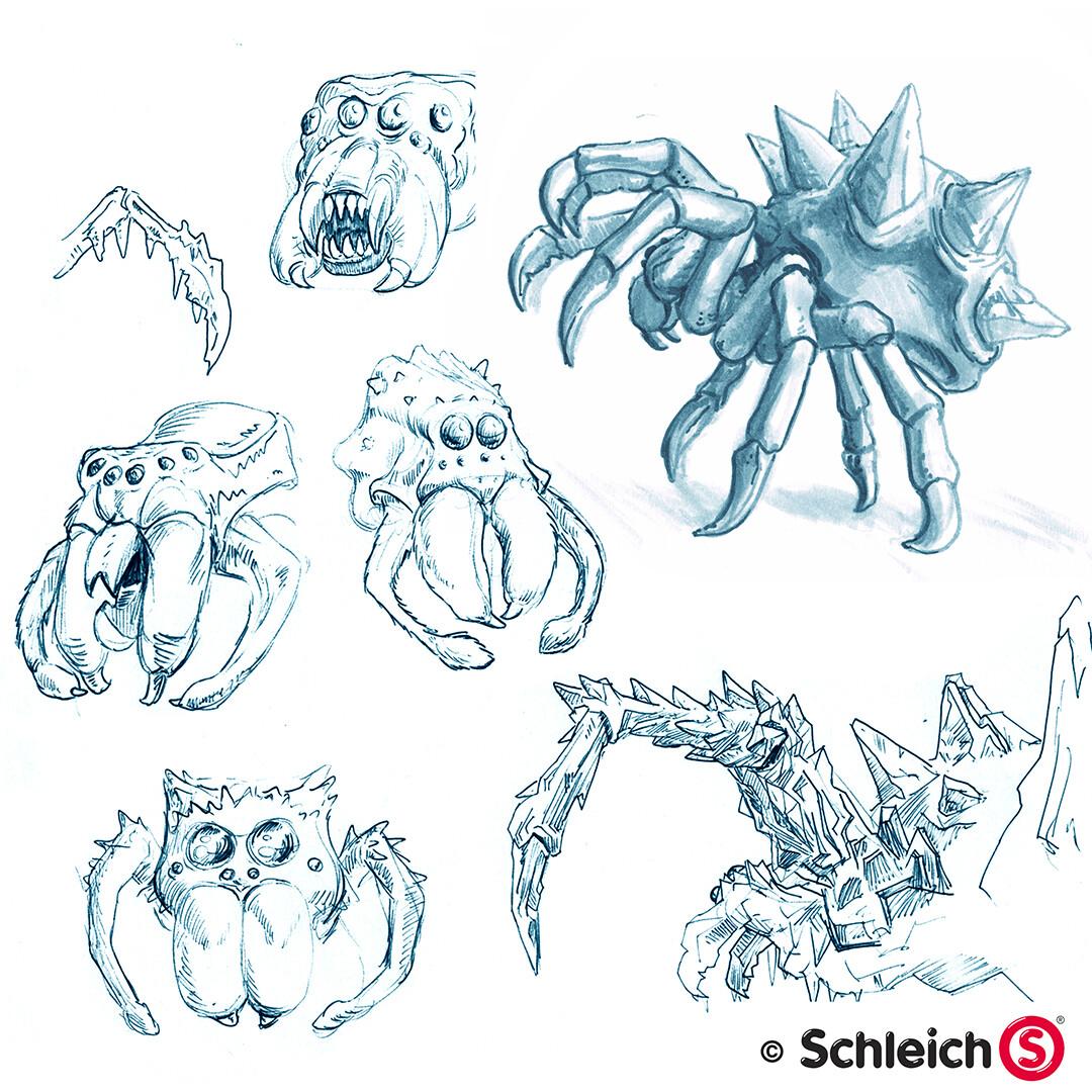Dirk wachsmuth schleich portfolio 42494 eiswelt eisspinne pg 01