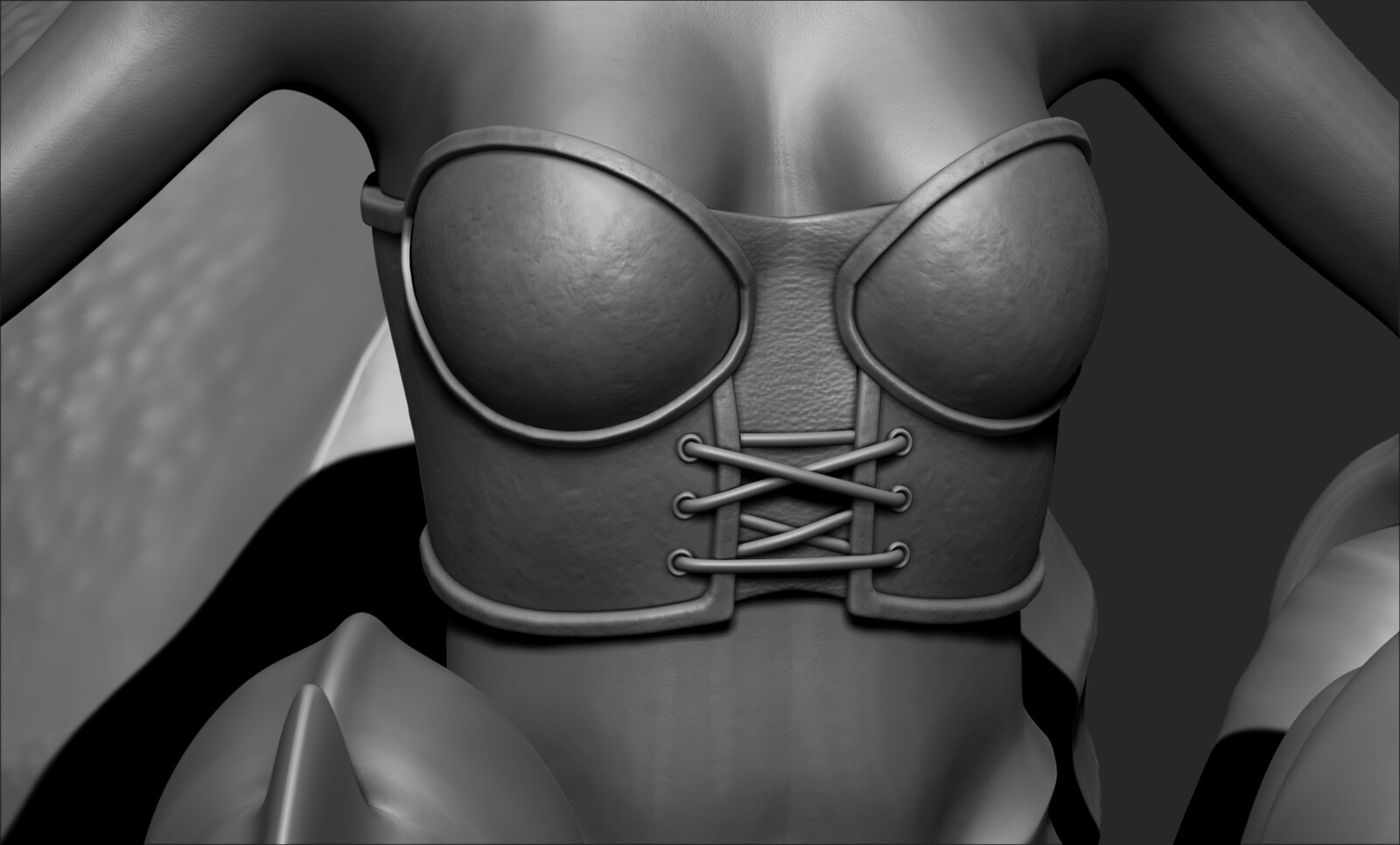 High Poly Sculpt - Breastplate