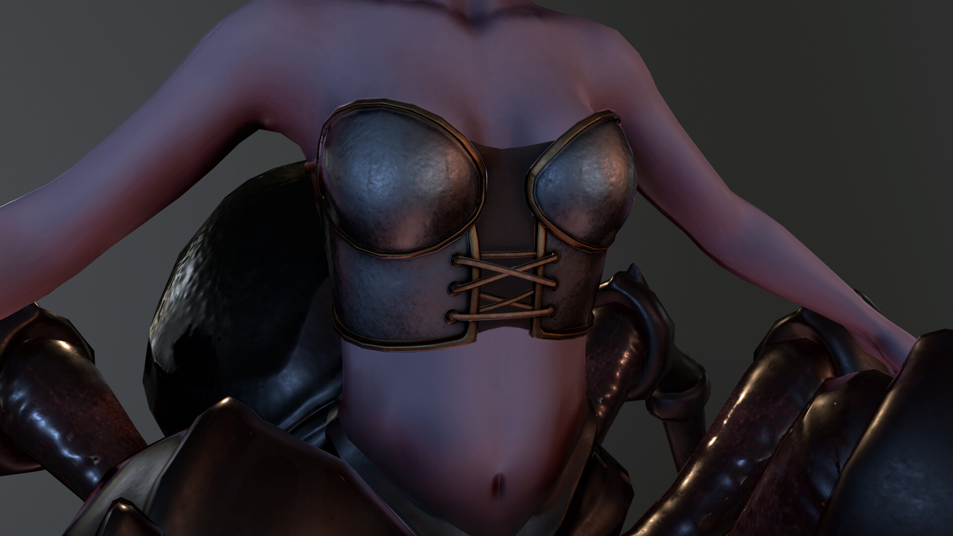 Brx taleshi 5 xena breastplate beauty render