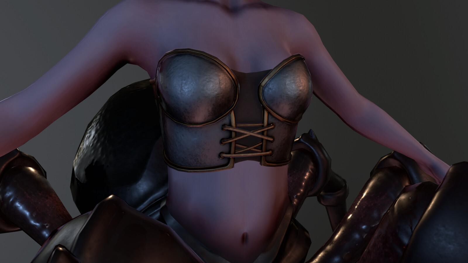 Beauty - Breastplate Render