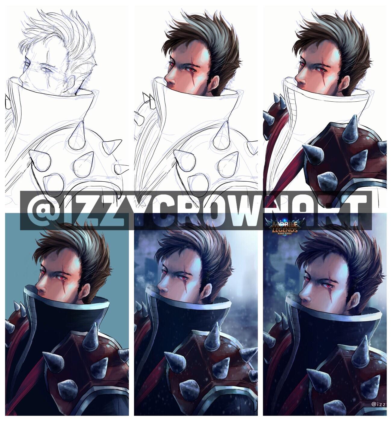 Mobile Legend Character Lightborn Granger Wallpaper Hd