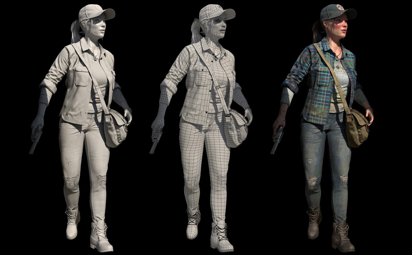 Michal klimecki michal klimecki 3d artist character modeling 10