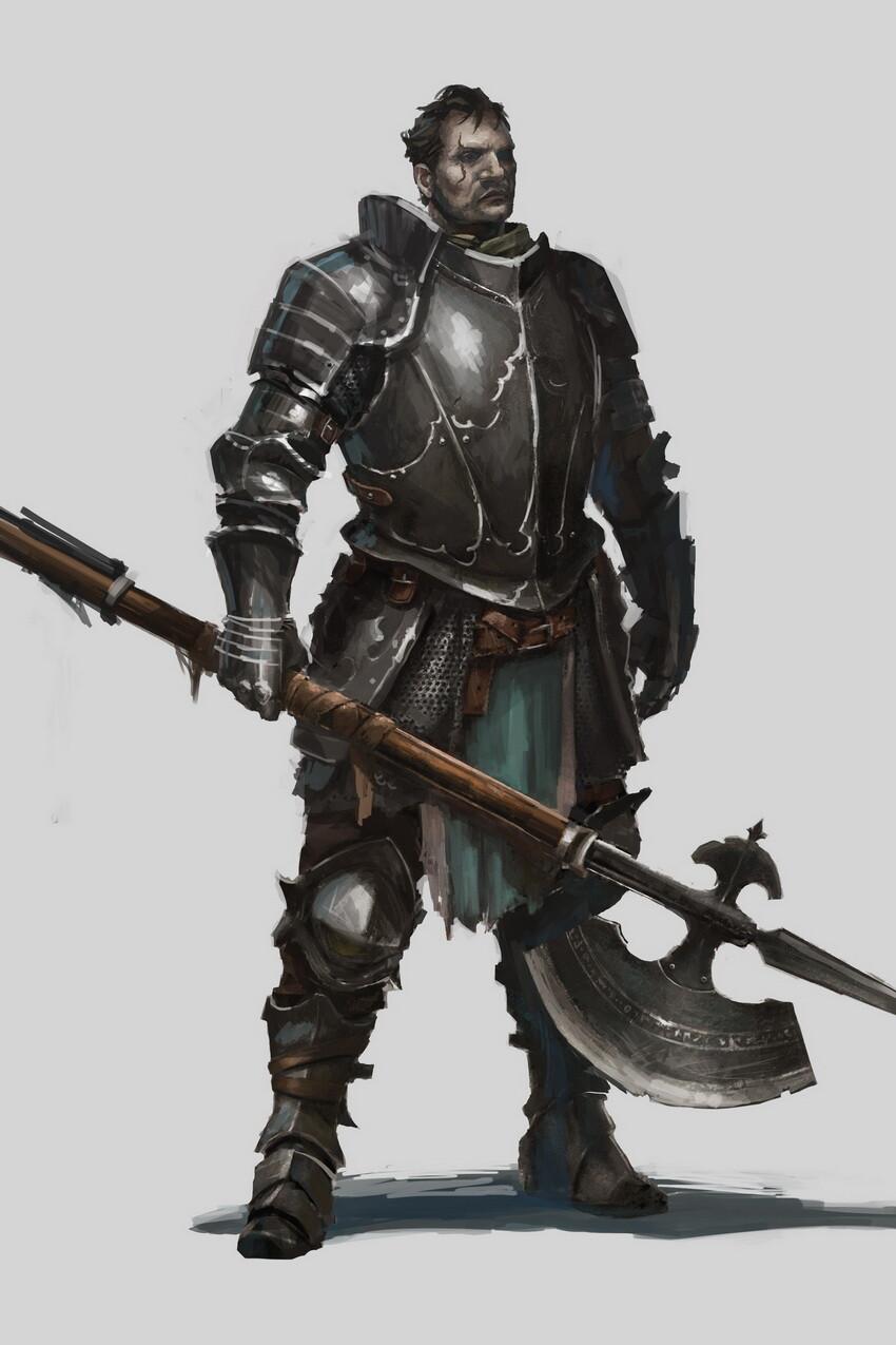 Michal klimecki character concept