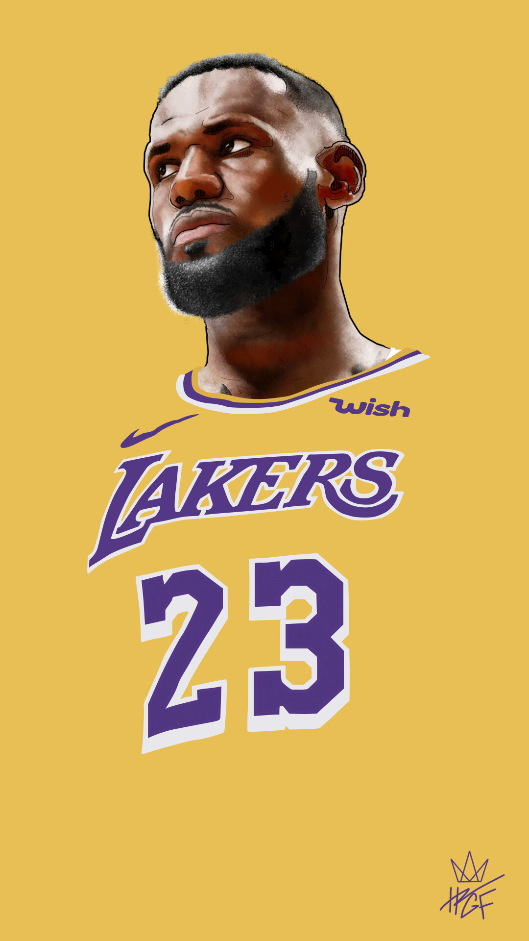 ArtStation - Lebron James Artwork