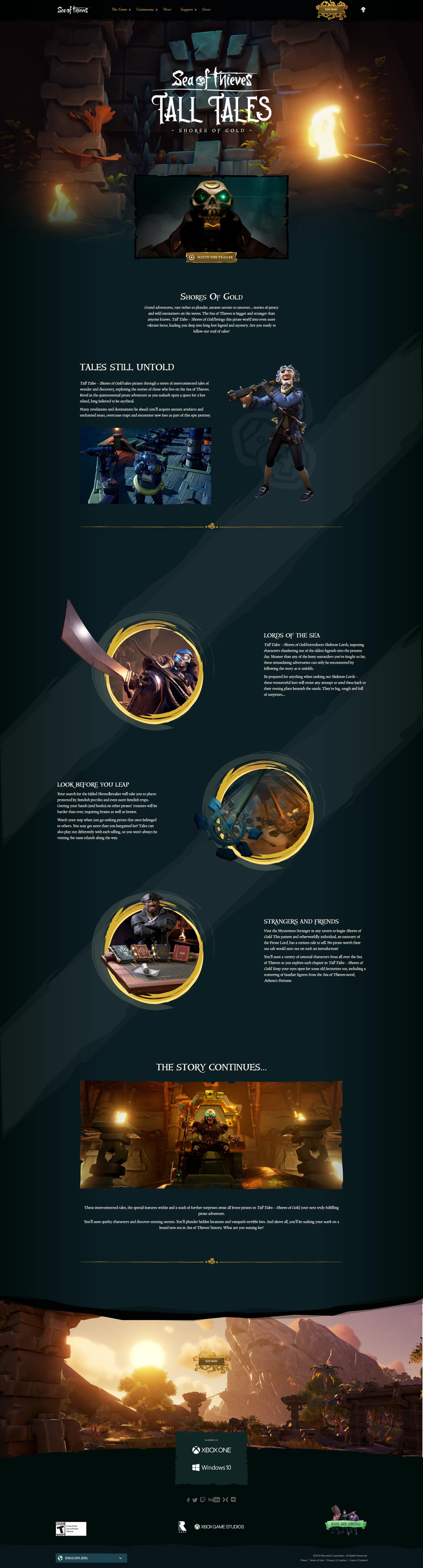 ArtStation - Sea of Thieves Anniversary - 3D Marketing Renders