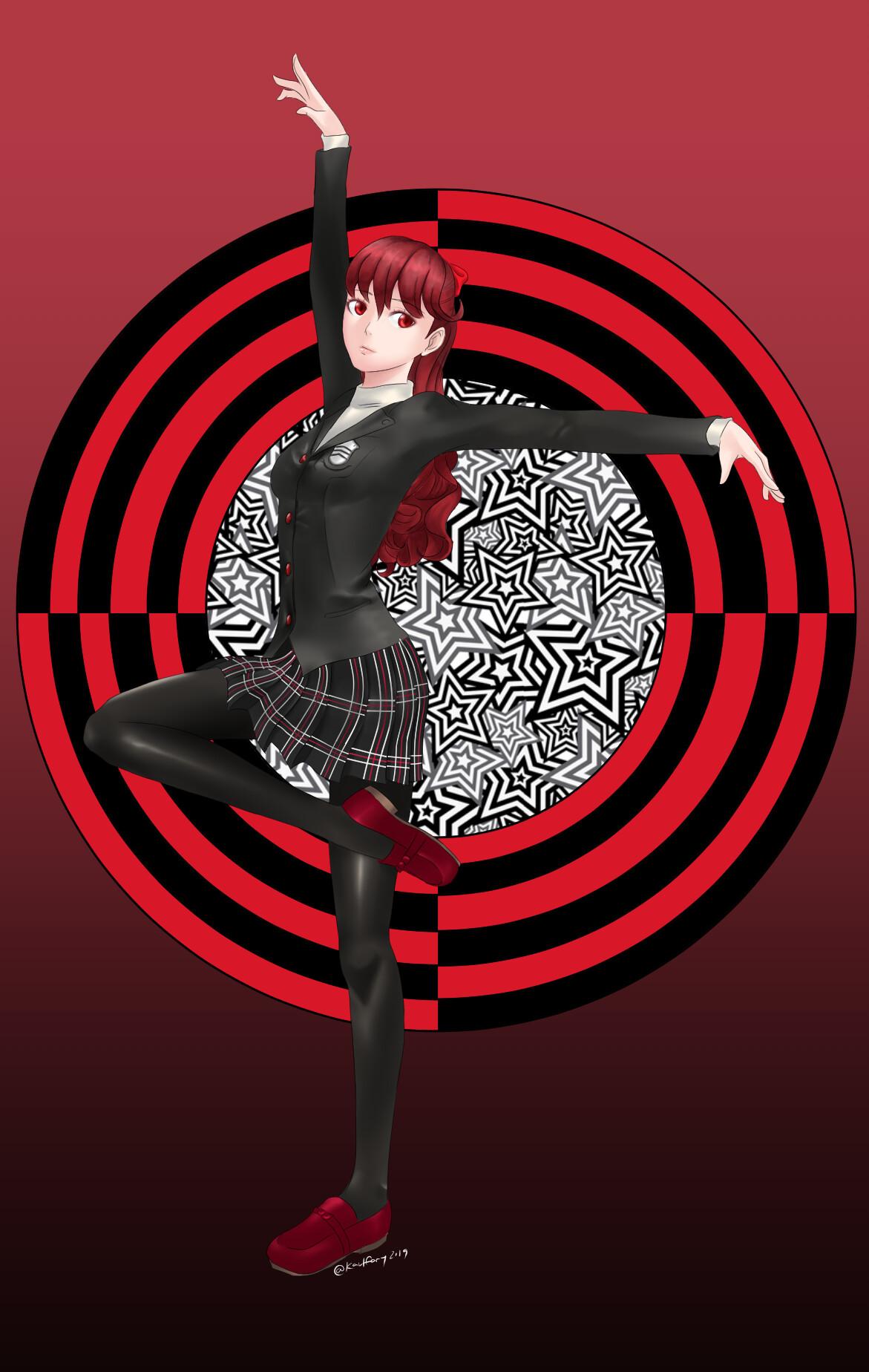 ArtStation - Persona 5 the royal Fanart - Kasumi, Karl Famy