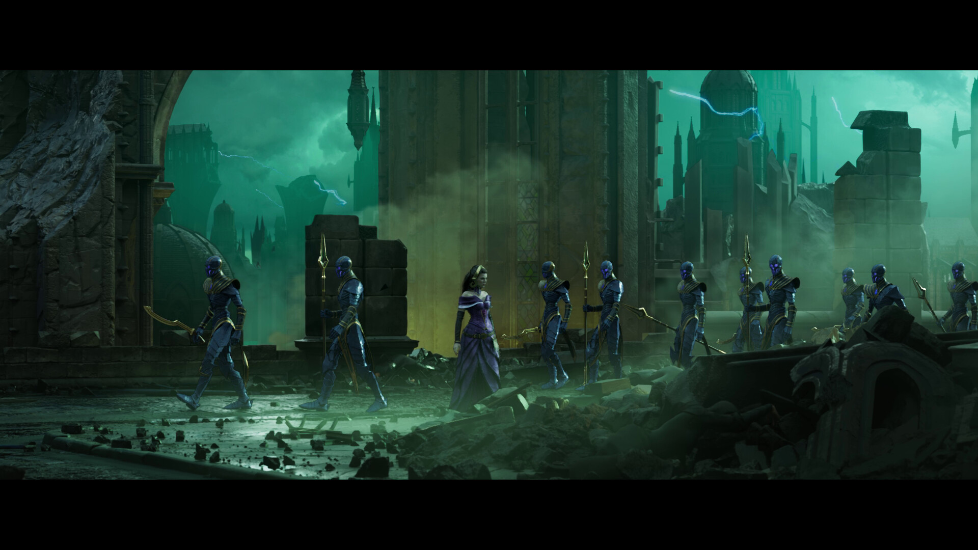 ArtStation - War of the Spark Official Trailer – Magic: The