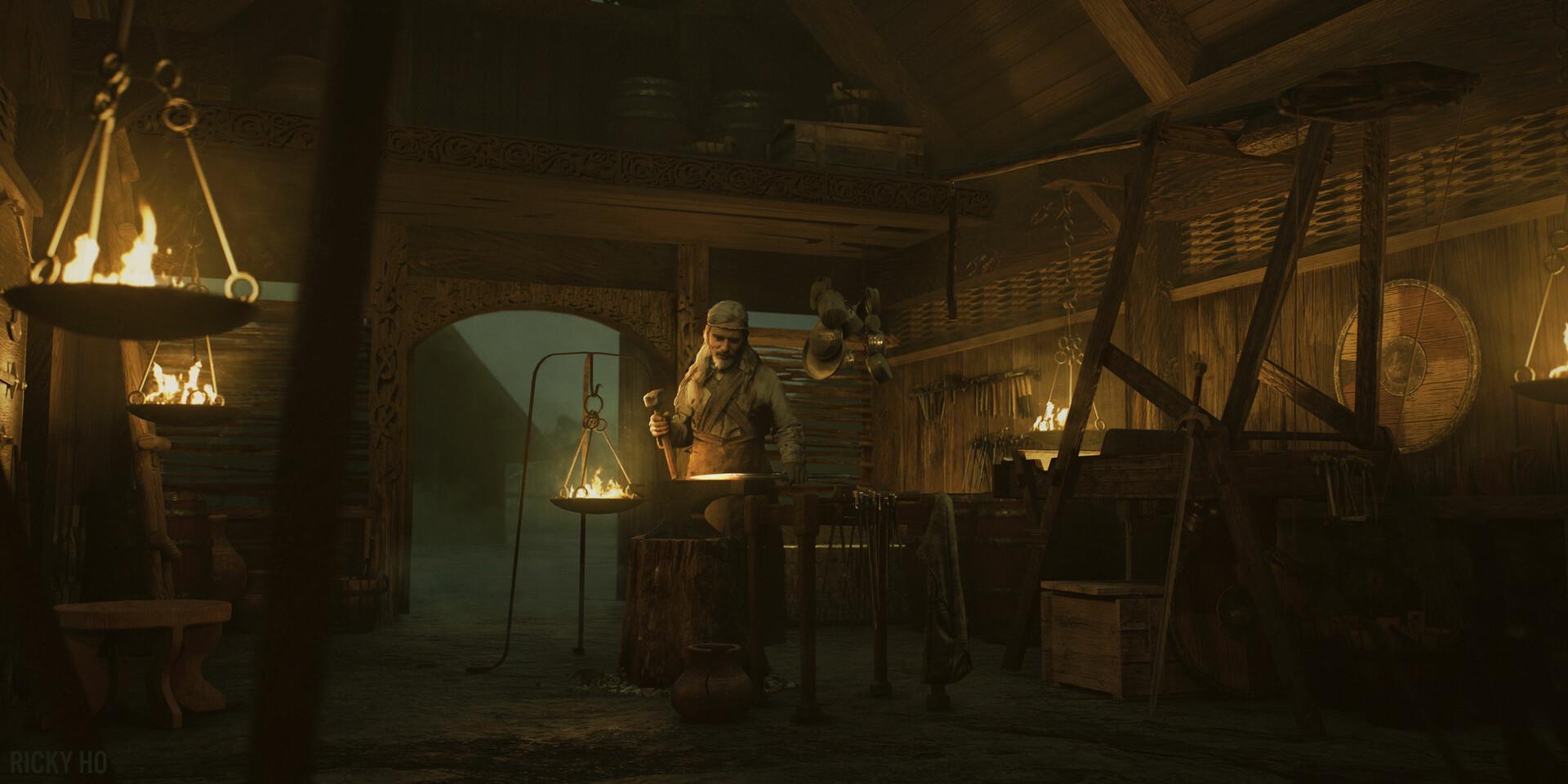 Ricky ho ricky ho blacksmith 01