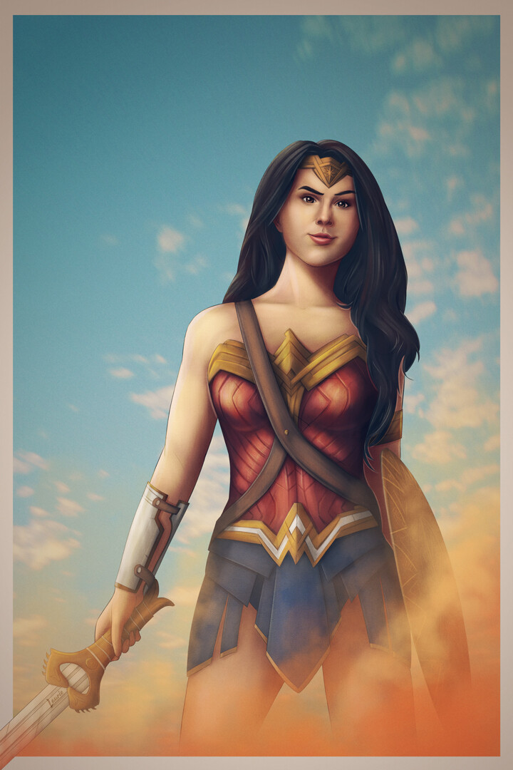 Laura escobar wonder woman
