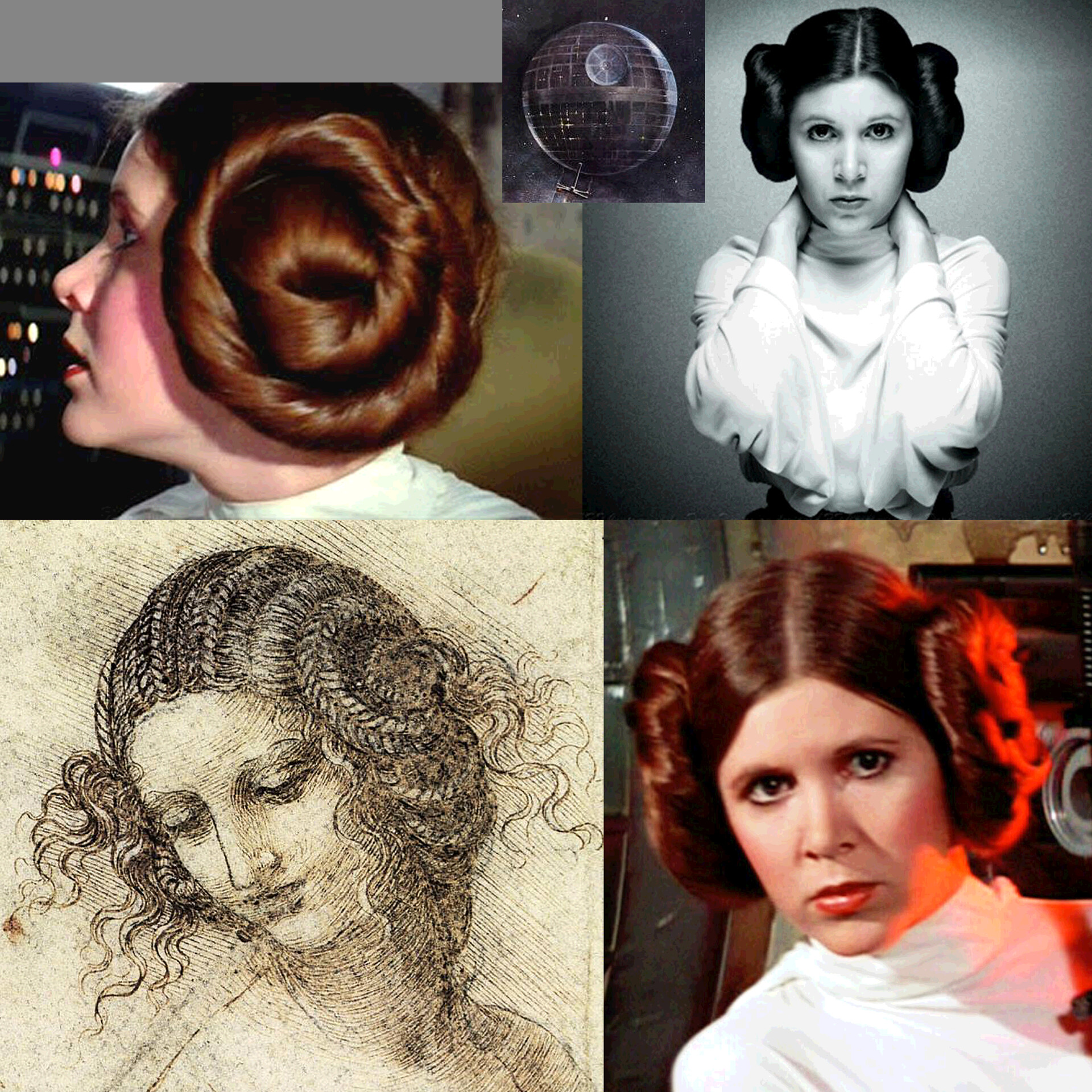 Study for the Head of Leia - REF