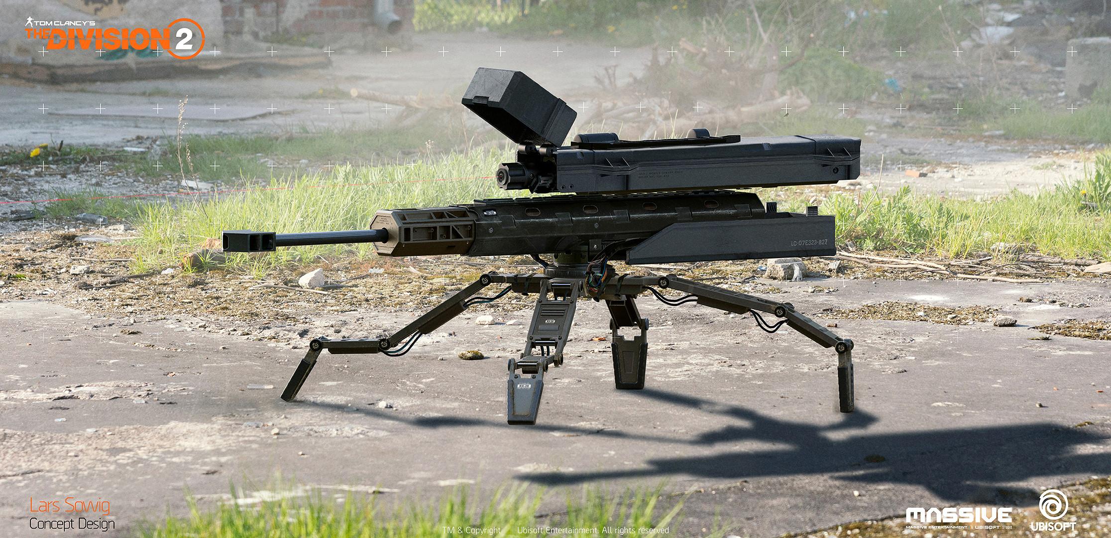 Sniper Turret Concept