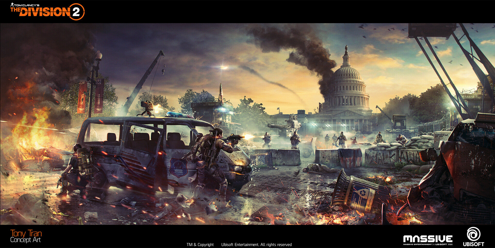 ArtStation - The Division 2 - Key Arts, Tony Tran