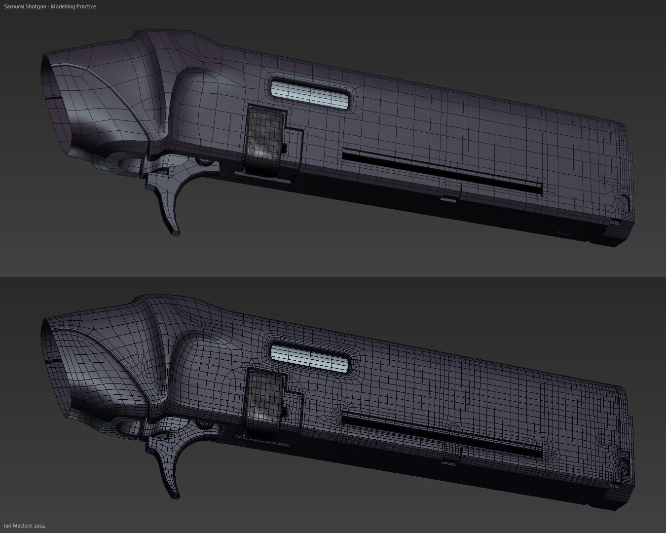 Ian maclure shotgun modelling 2