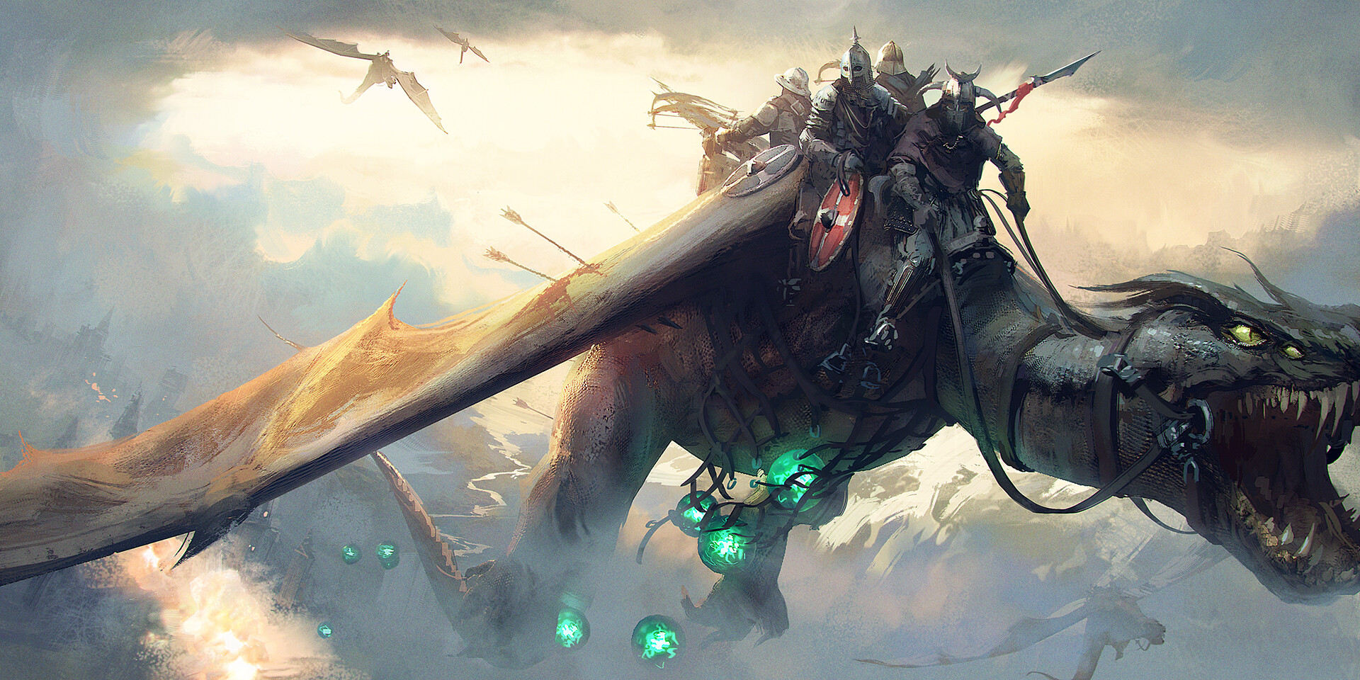 Joakim ericsson dragon ride small