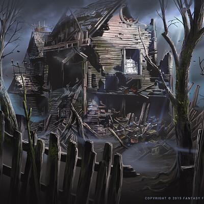 Nele diel witch house ruins