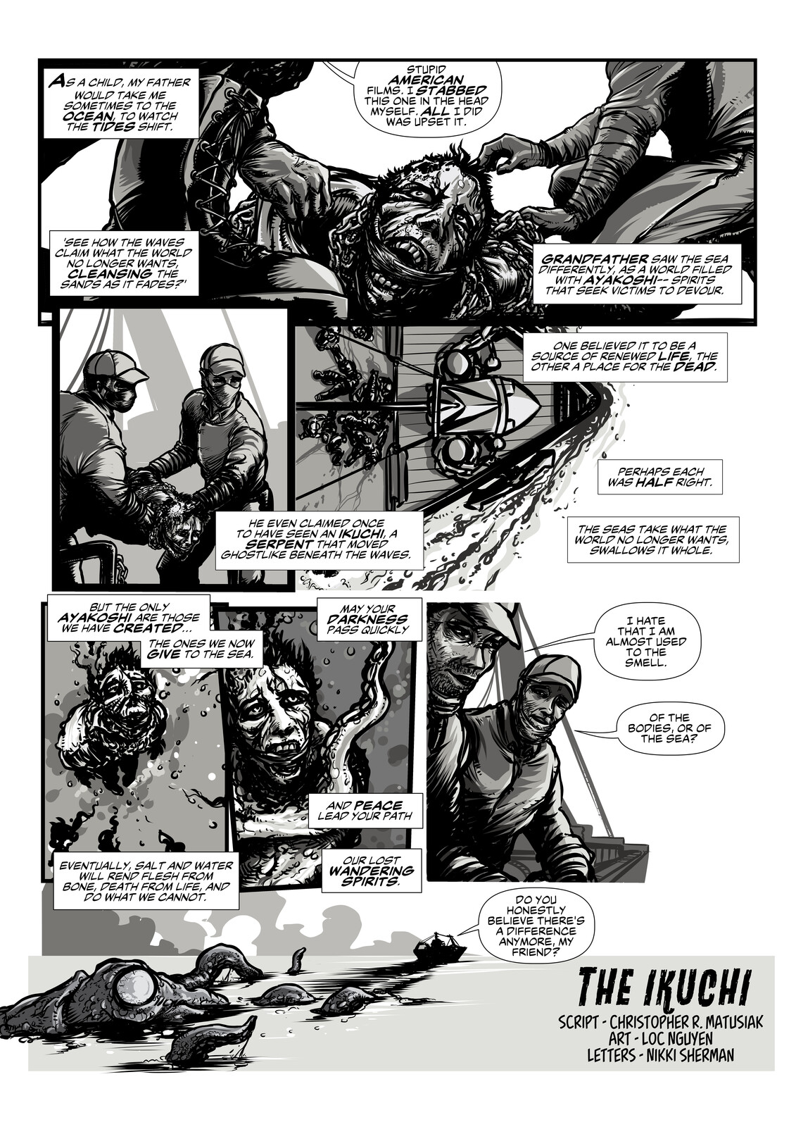 The IKUCHI - One page comic