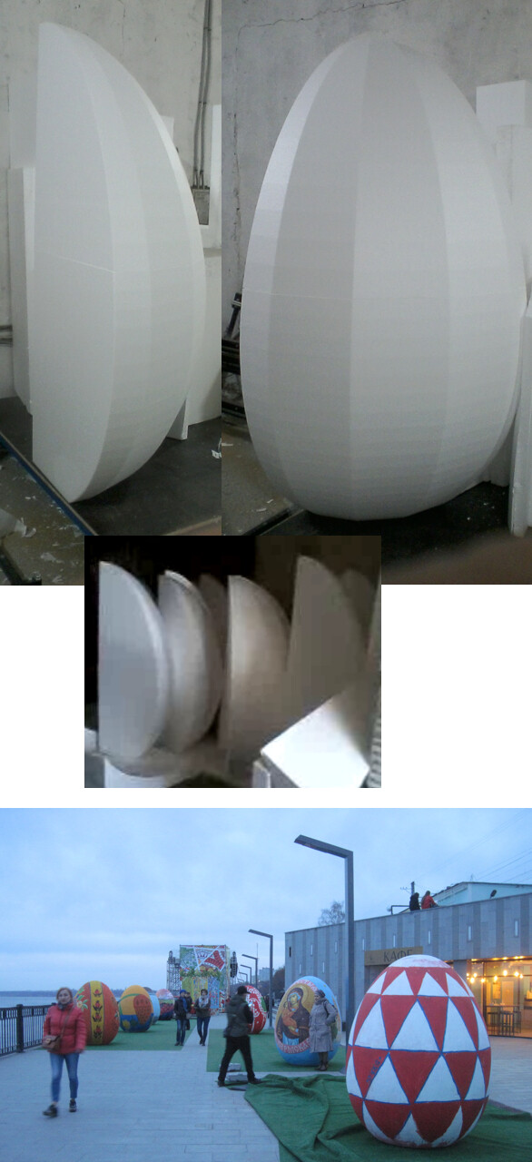 Big eggs for painting
