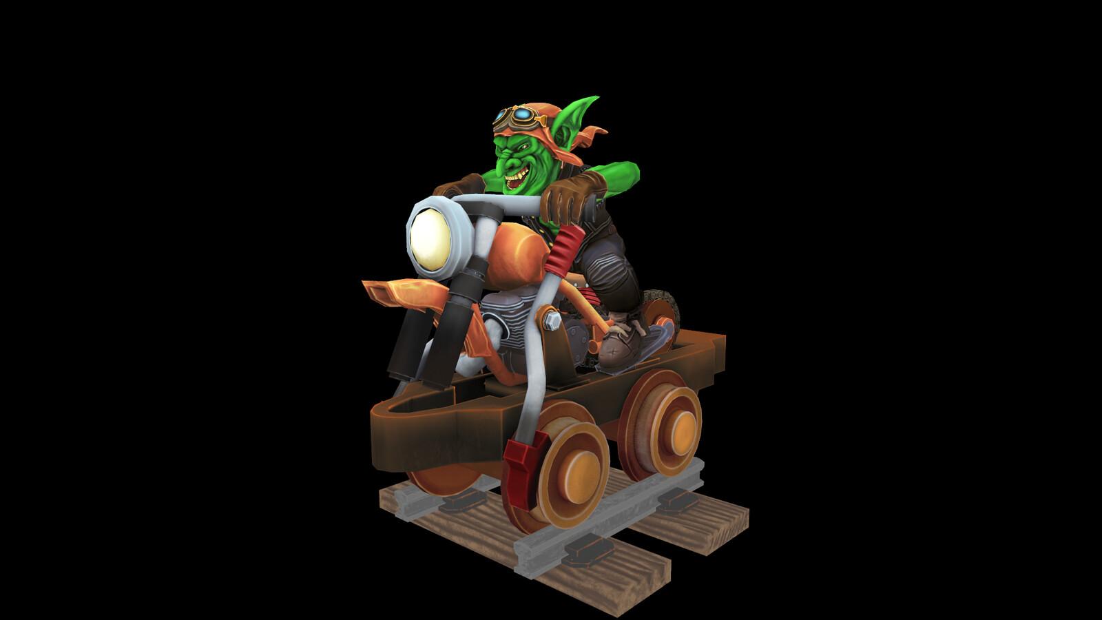 Goblin Cart Rider