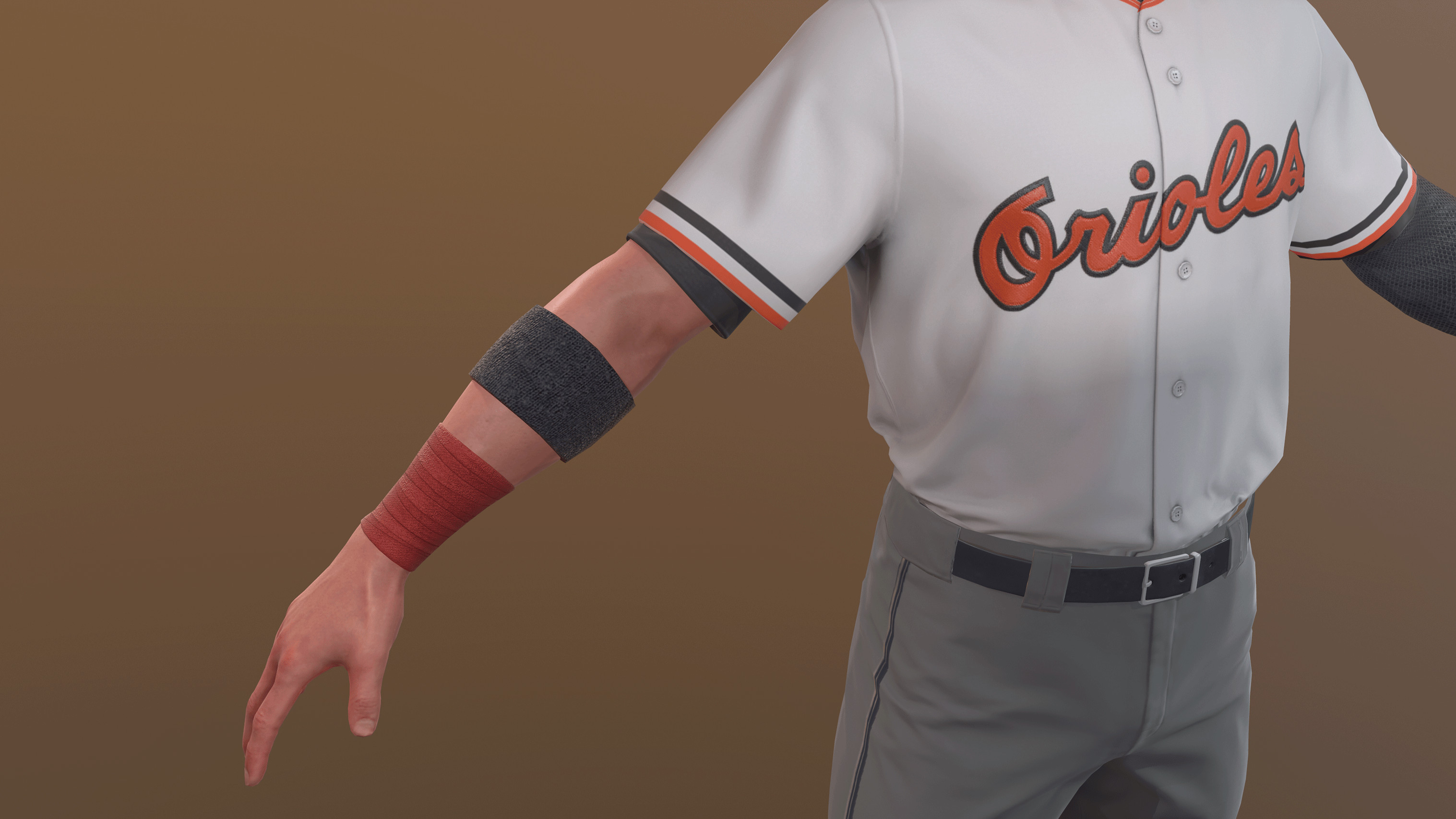 Wrist tape and arm band