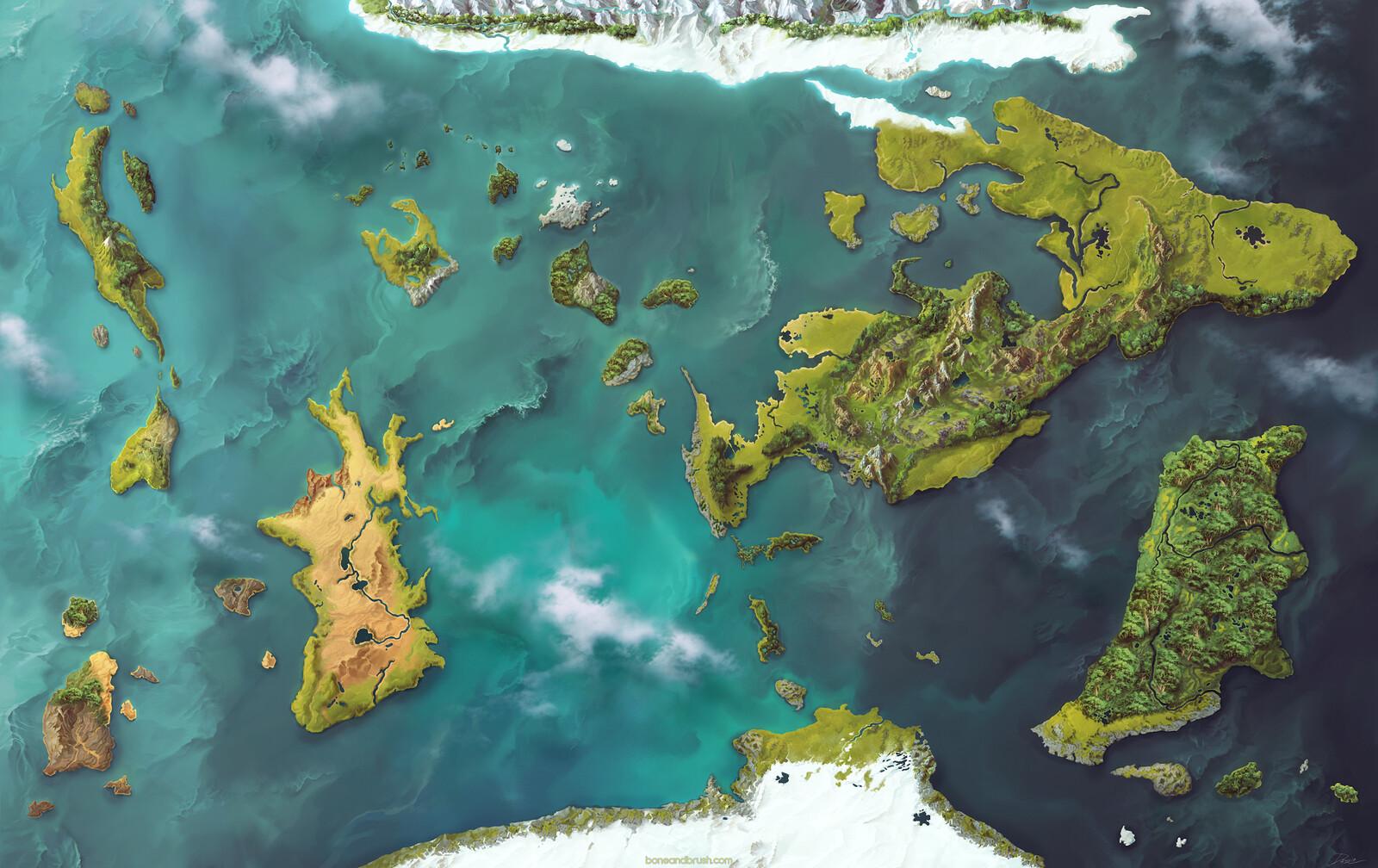 Eotera Map