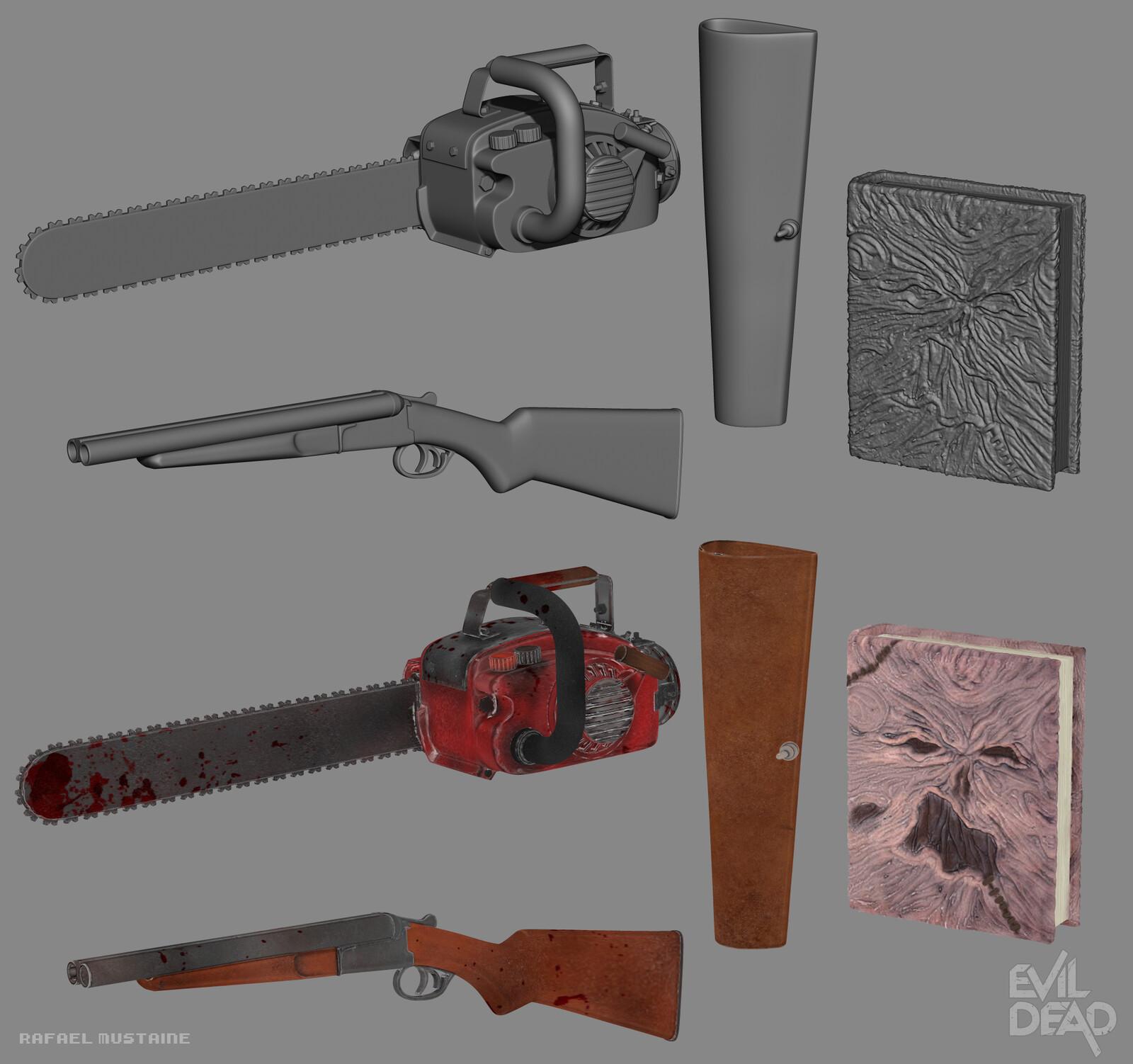 Ash Evil Dead - Props