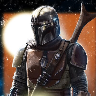 Micah brown the mandalorian poster 2