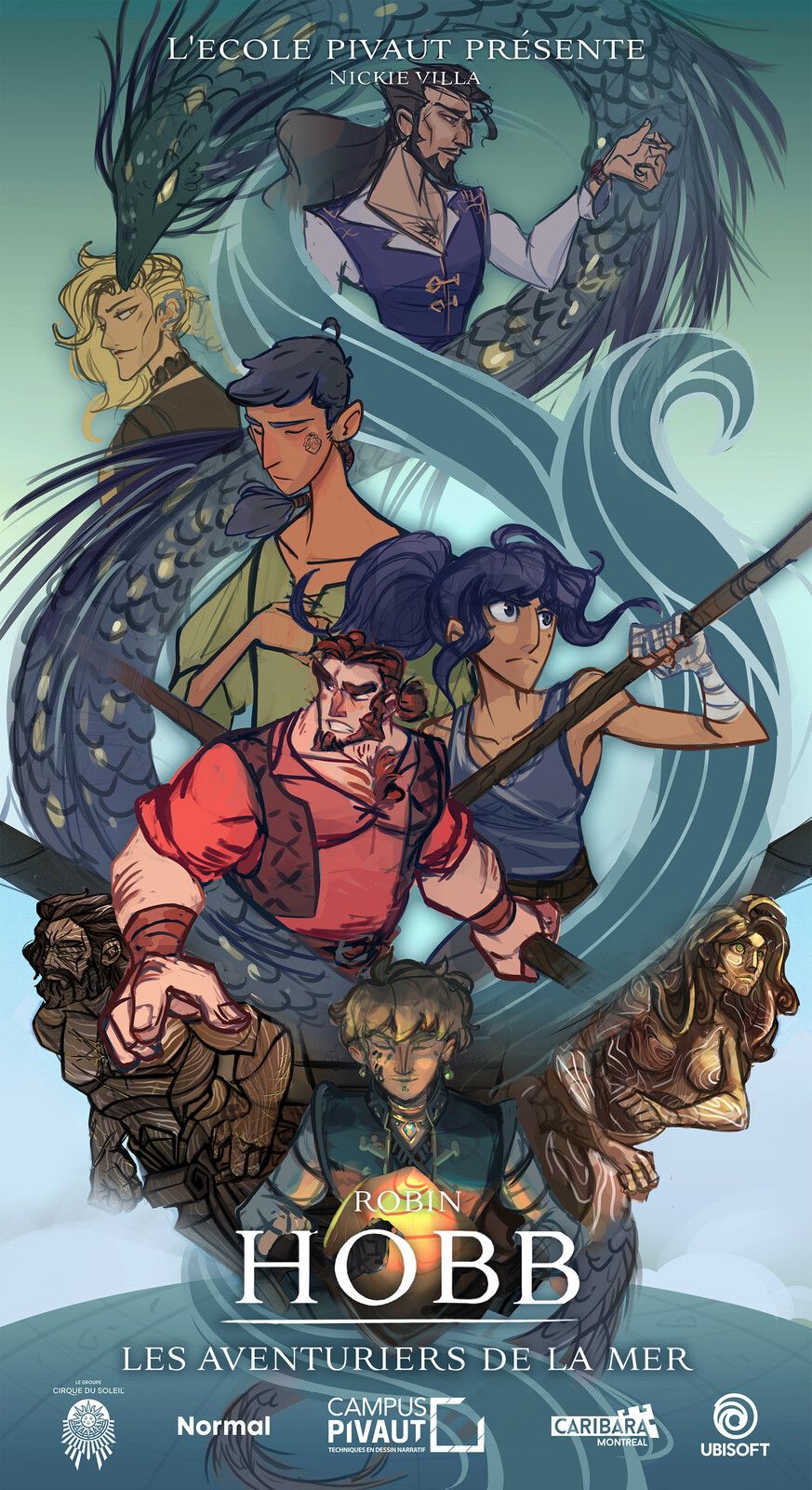 The cover/kakemono