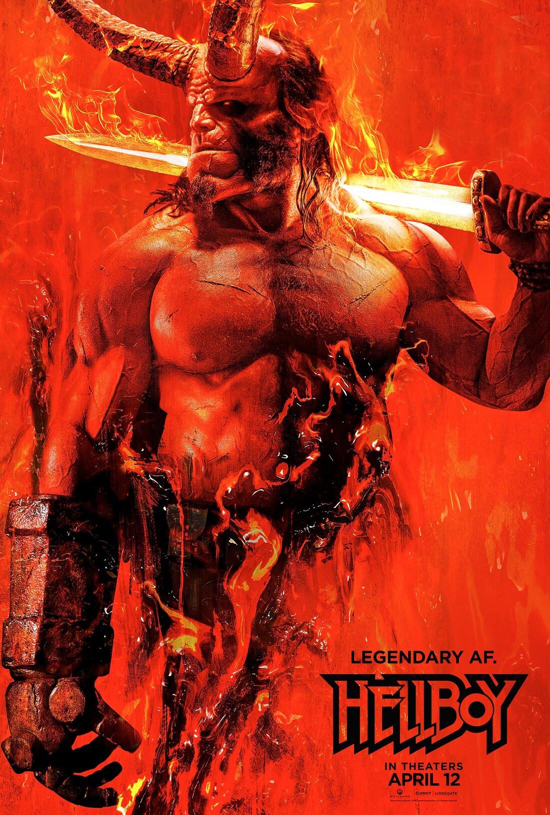 Bruno camara hellboy poster
