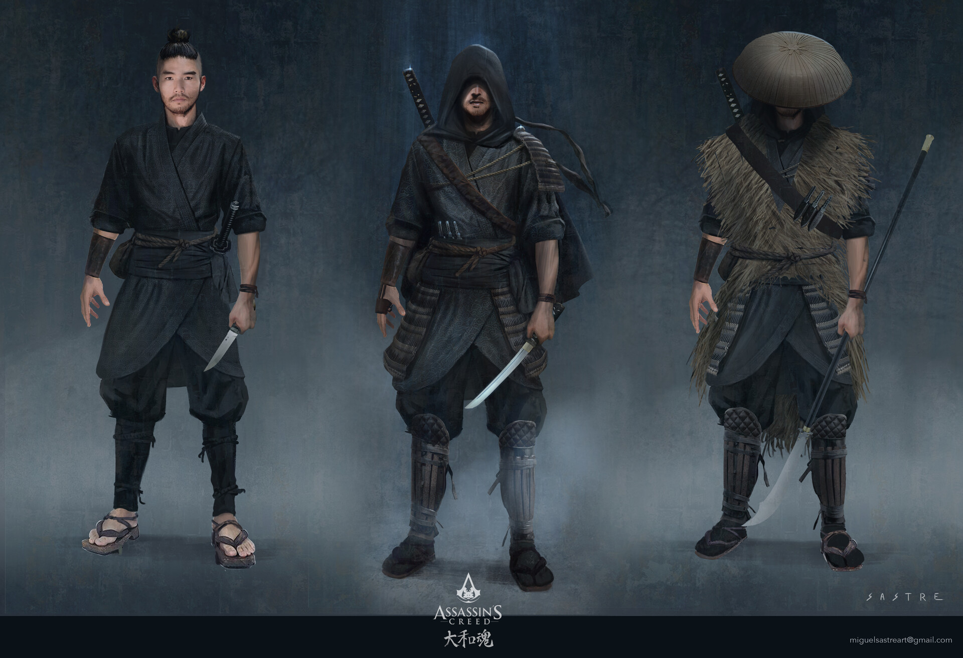 Miguel sastre assassins ninja compo