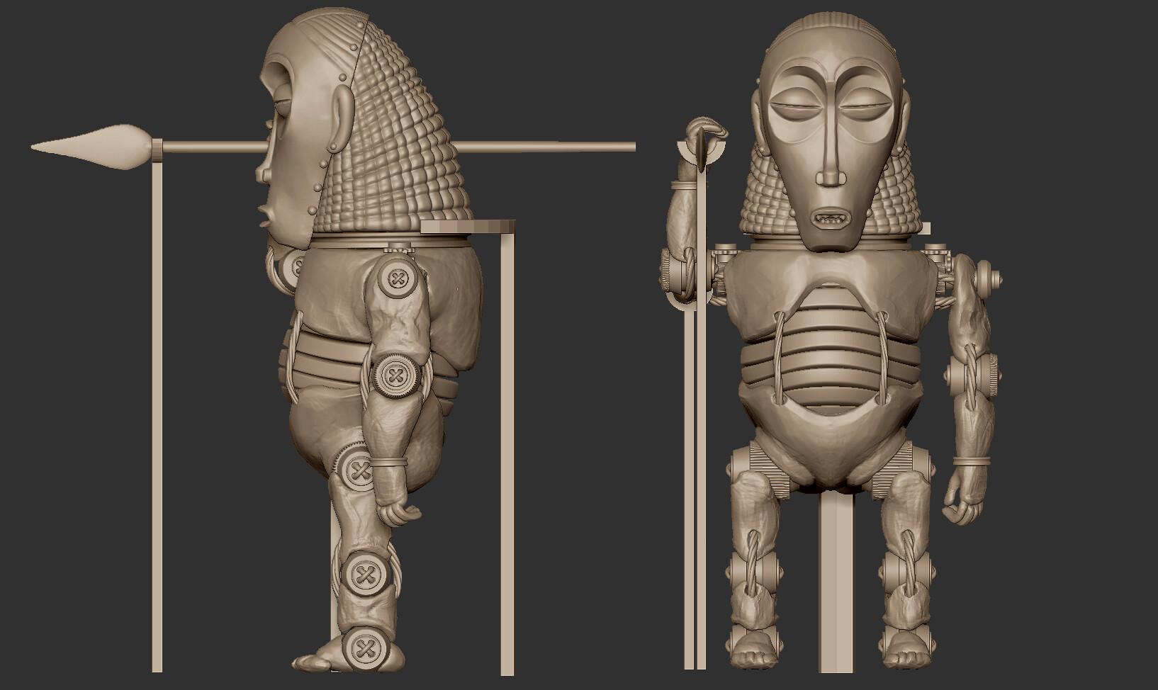 Oscar trejo ancient robot oscar trejo wip