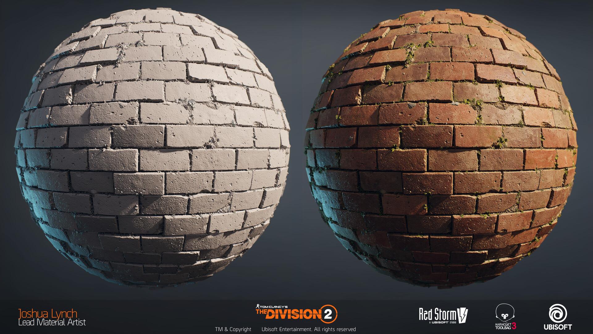 Joshua lynch division 2 josh lynch brick