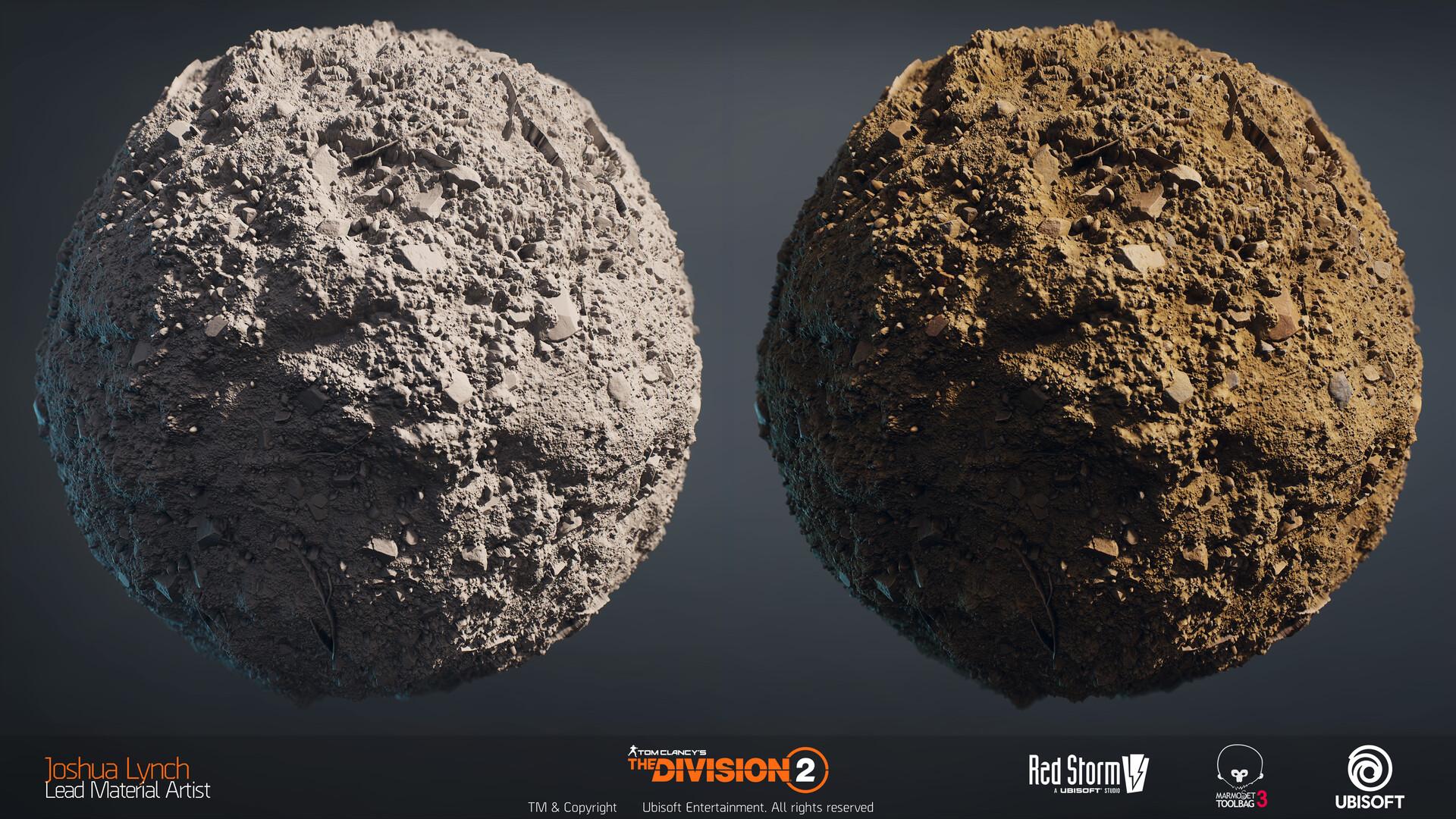 Joshua lynch division 2 josh lynch soil mud dry