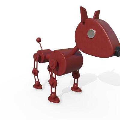 Joseph moniz robotdog001e