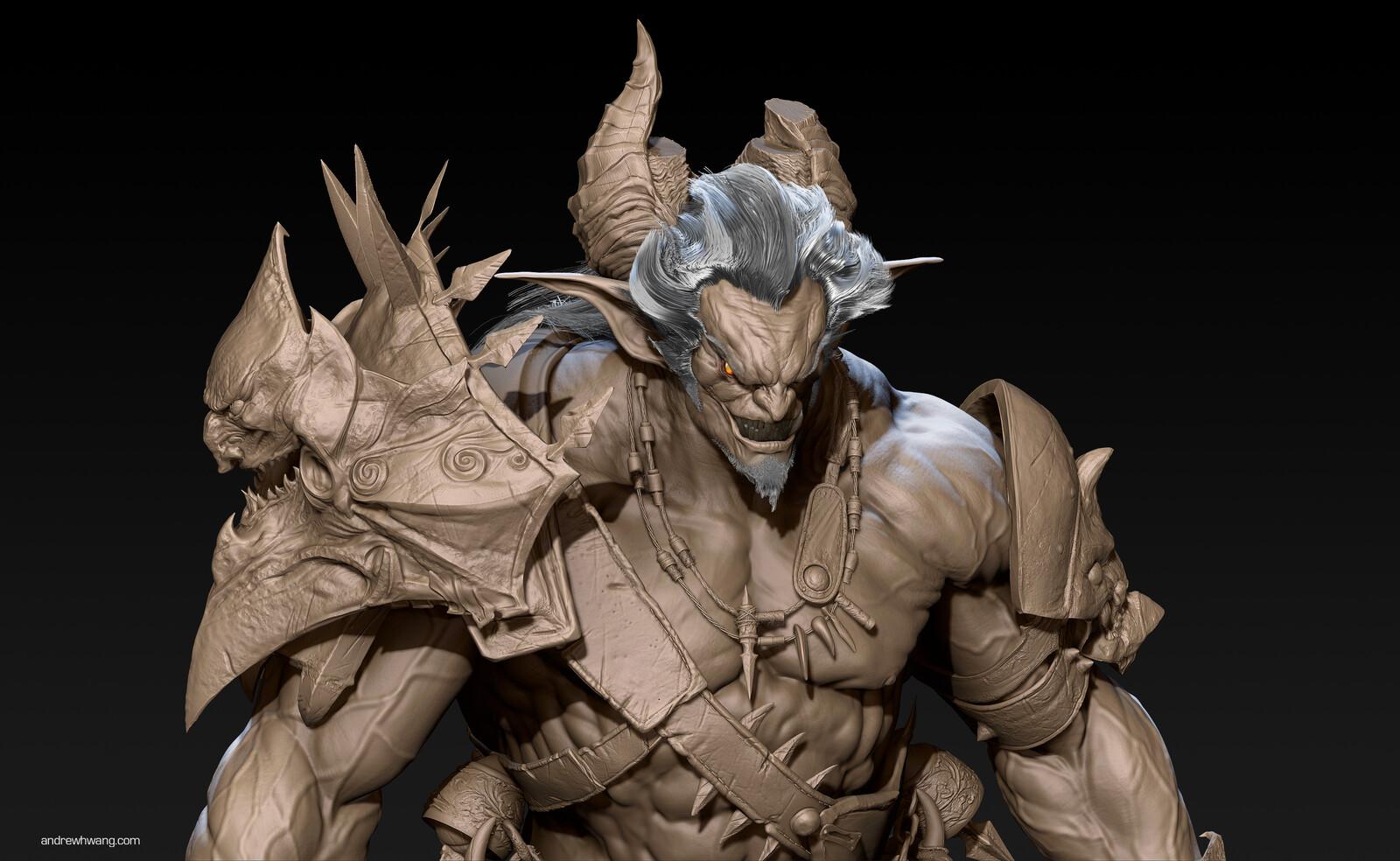 Demon Sculpt