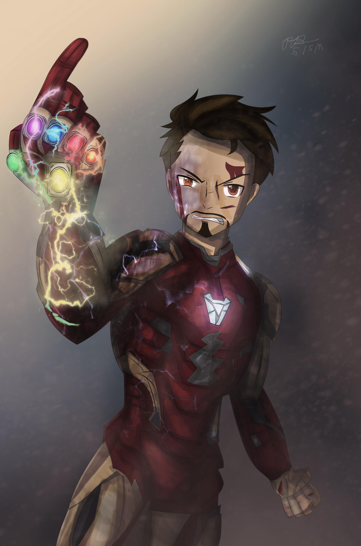 Artstation Iron Man Endgame Paul Alvin Buquiron