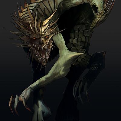 Jon yousef demon dragon
