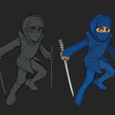 Jon yousef ninja male shozoku